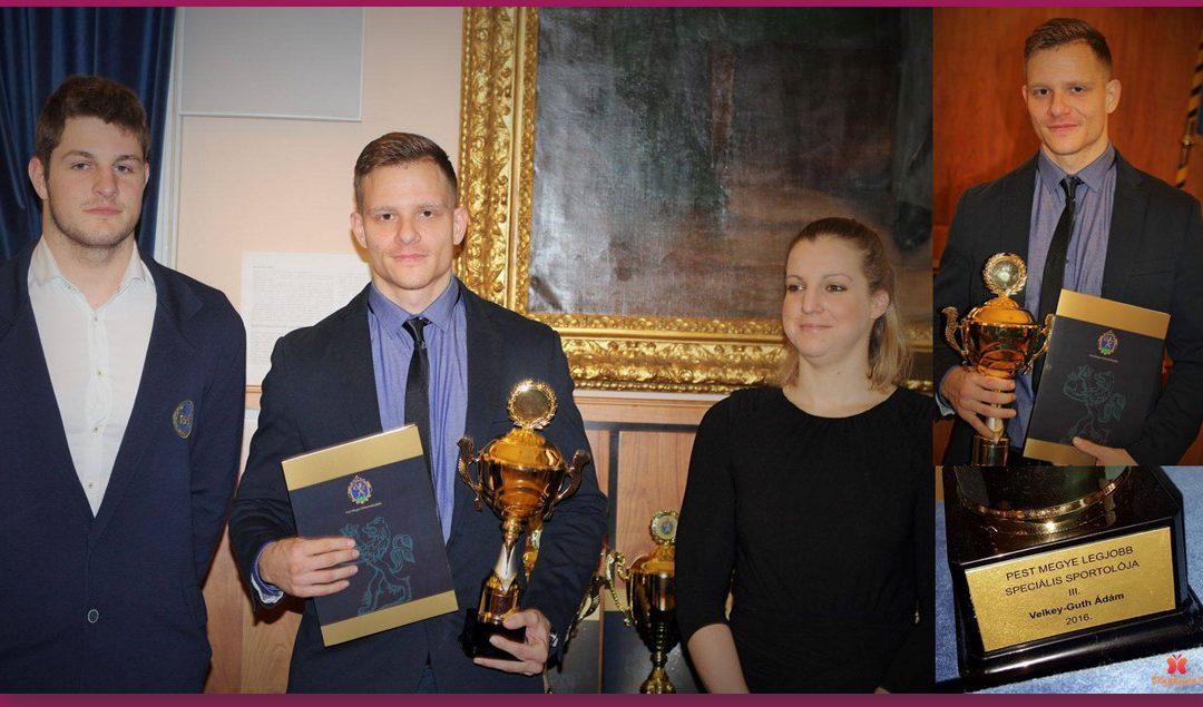 Pest megye legjobb sportolói között 2016-ban is !