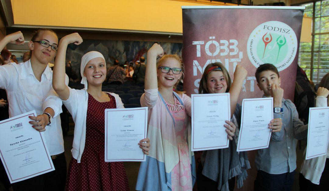 Az év diáksportolói – Trappancs díjazottak