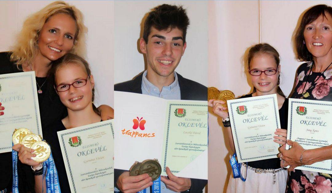 Pestújhelyi Önkormányzat veseátültett sportolókat díjazott