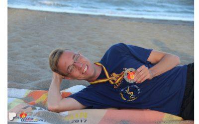 Vesetranszplantált joghallgató és úszóbajnok