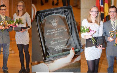 Májtranszplantált úszónk Veszprém megye legjobb sportolói között
