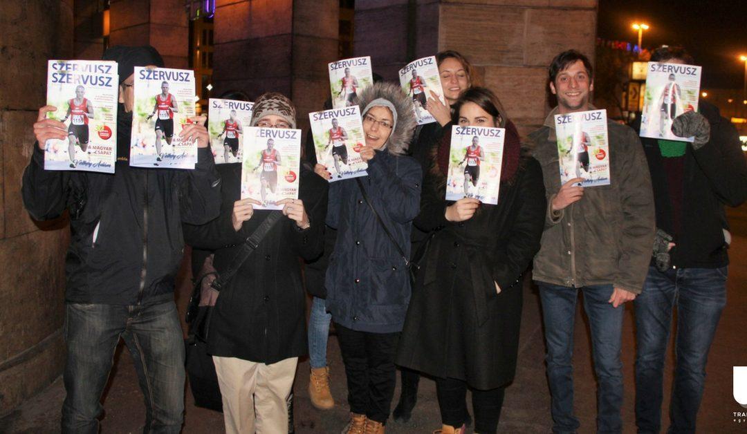 Trappancs vacsora – szervátültetett fiatalok karácsonyi találkozója