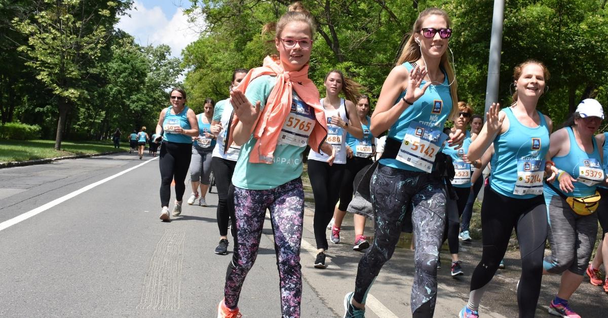 Szervátültetett futóink az ALDI Női Futógálán