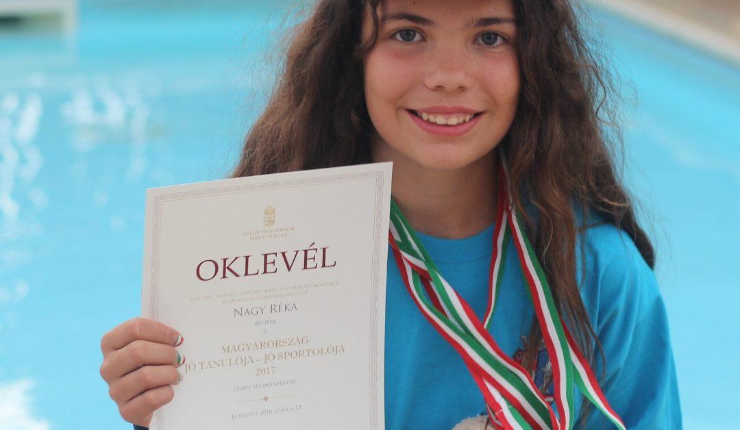 Magyarország jó tanuló, jó sportolója 2018.